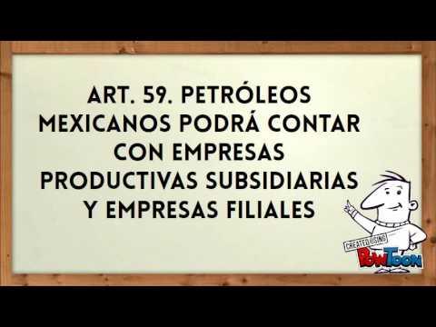 LEY DE PETRÓLEOS MEXICANOS