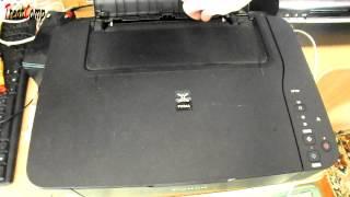 Диагностика принтера Canon MP230. ПРИКОЛ!