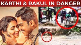 Actor Karthi & Rakul Preet Singh in Danger!! | TT 170