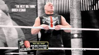 "2013: Brock Lesnar 6th WWE Theme Song - ""Next Big Thing"" + Download Link ᴴᴰ"