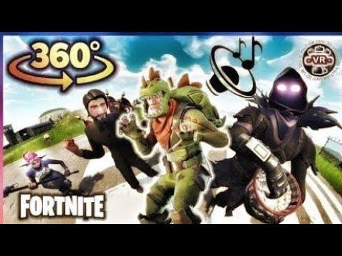 360° VR Fortnite Music Dance in Virtual Reality for VR BOX 360 4K