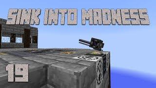 ►RAIL GUN DEFENSE! | Sink Into Madness #19 | Modded Minecraft ◄ | iJevin