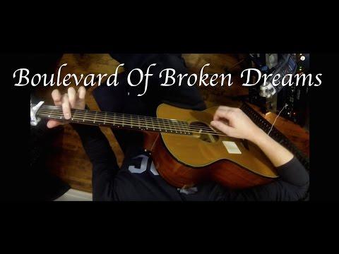 Green Day - Boulevard Of Broken Dreams - Fingerstyle Guitar