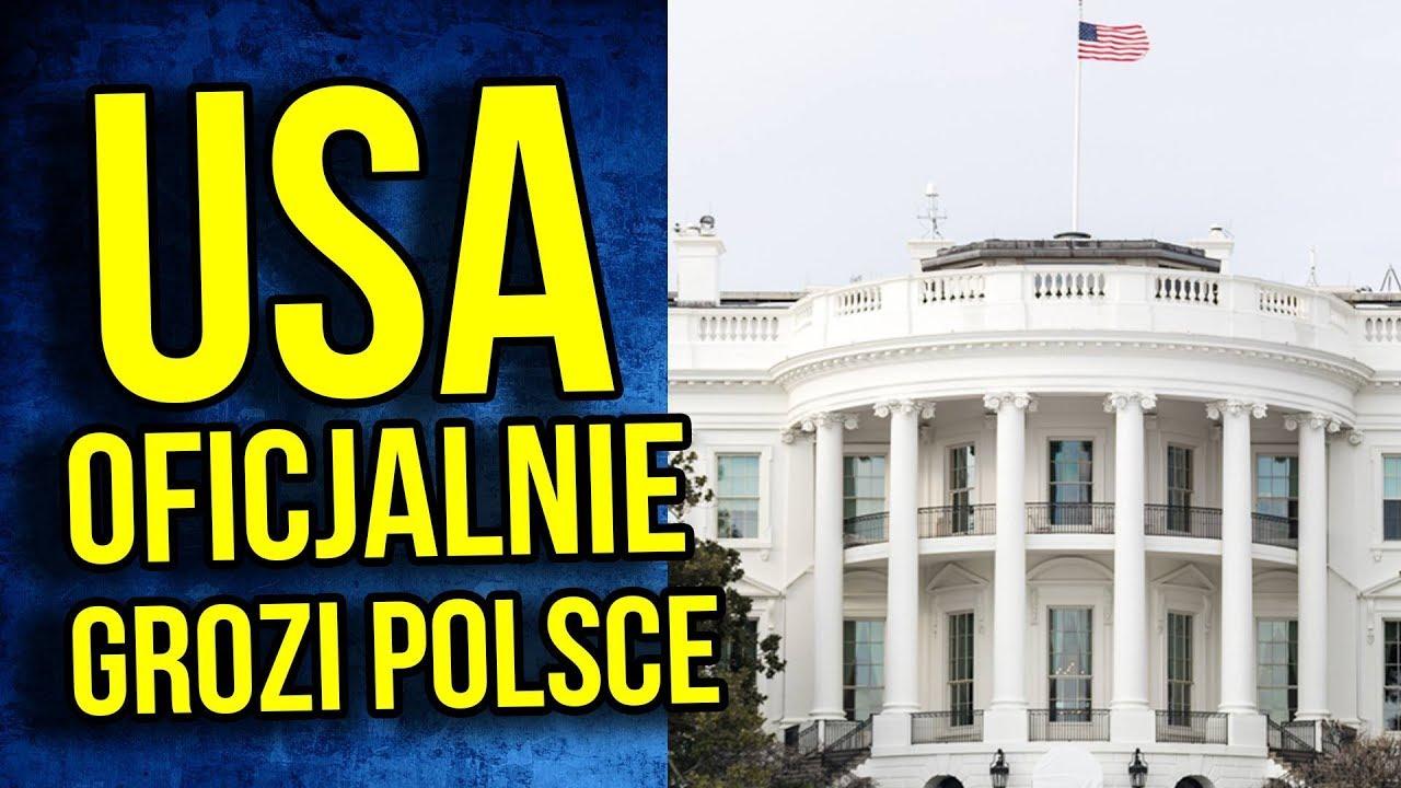Katastrofa! USA OFICJALNIE Grozi Polsce. Sankcje od Ameryki lub Uległość Izraelowi
