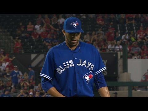 TOR@LAA: Price Fans Nine Batters Over Eight Frames
