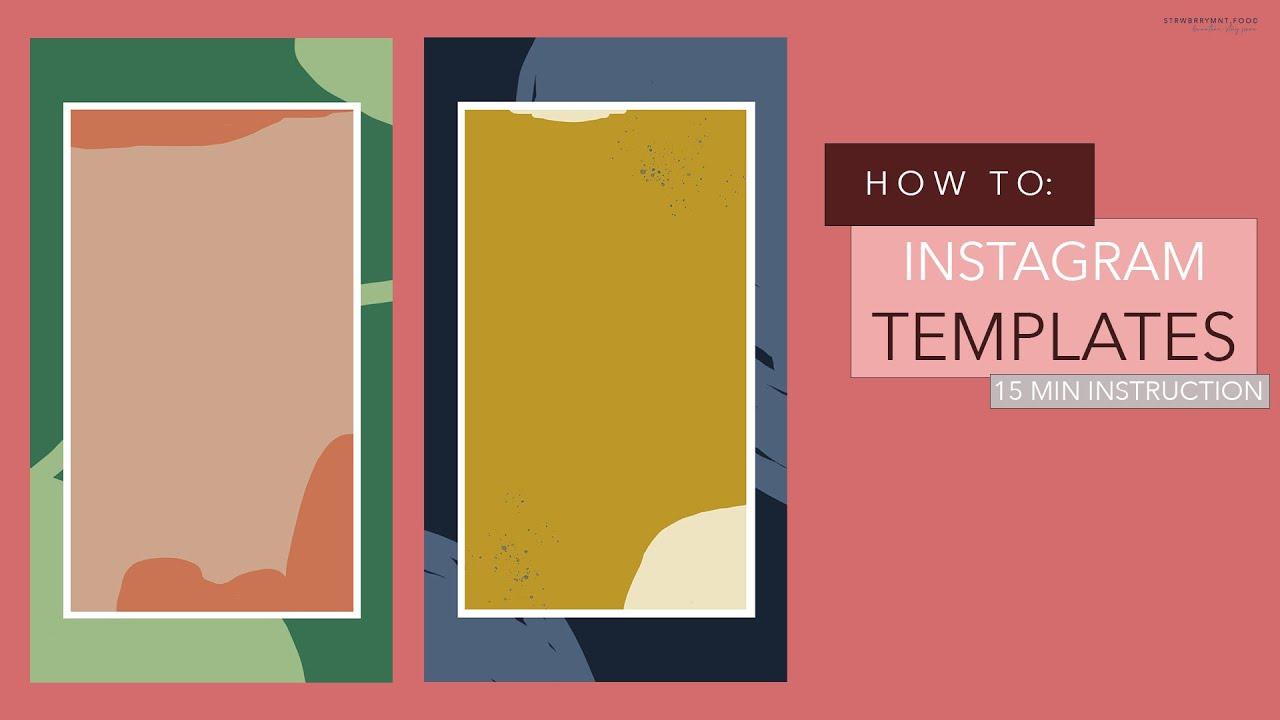 Eigene Templates und Vorlagen für Instagram erstellen mit ...