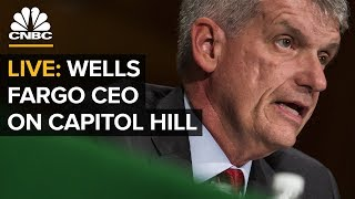 WATCH LIVE: Wells Fargo CEO Tim Sloan Testifies On Capitol Hill —Tuesday, March 12 2019 thumbnail