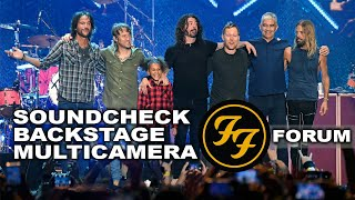 Foo Fighters - Soundcheck, Backstage and Multi Camera Show - The Forum - Nandi Bushell & Dave Grohl