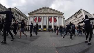 Флешмоб УАЛ в серці Брюсселю, травень 2017
