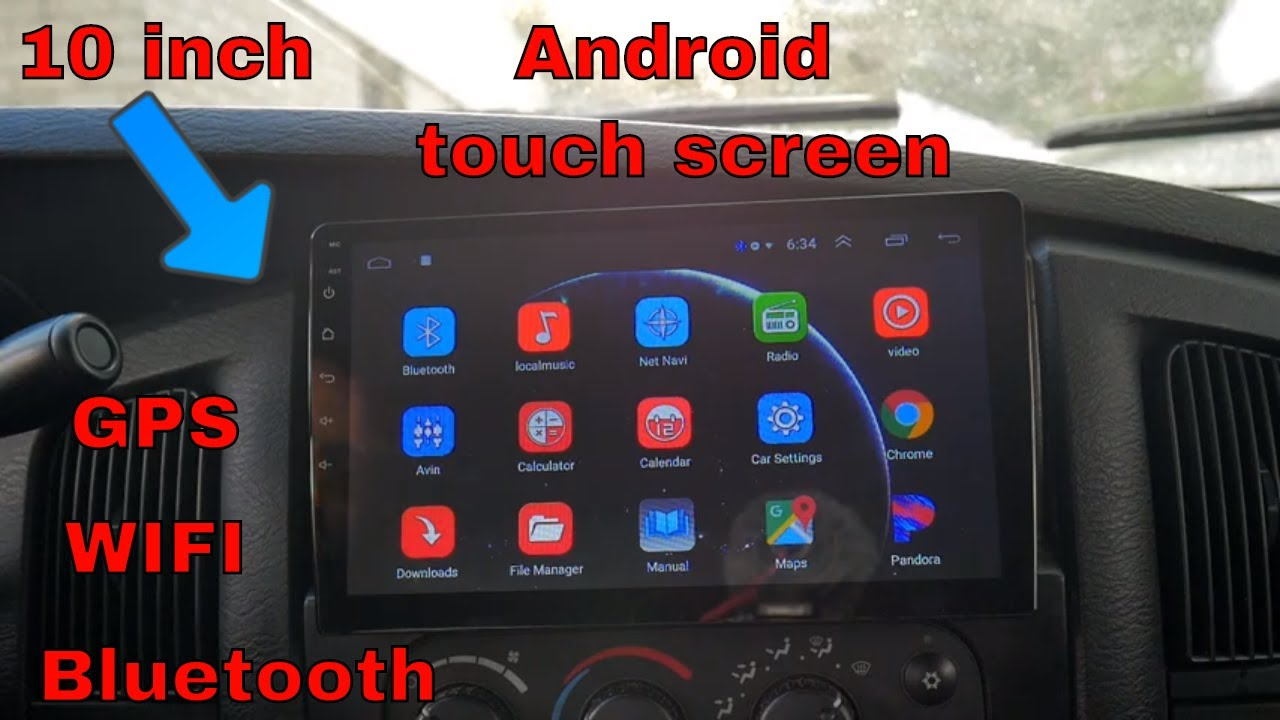 Cheap 10 Inch Touch Screen Android Car Radio 51 Dollars Youtube