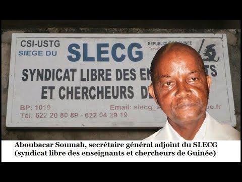 Aboubacar Soumah sur la radio Africa Midi: Nous maintenons la grève