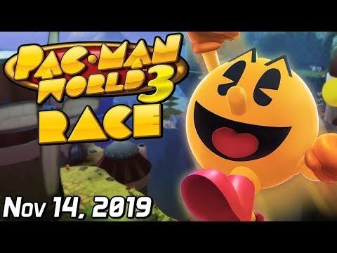 [SimpleFlips] Pac-Man World 3 Race W/ Idiots [Nov 14, 2019]