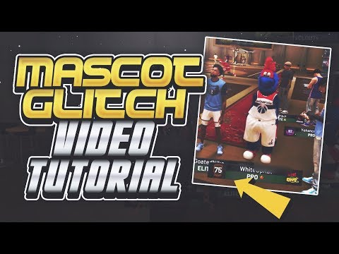 MASCOT DEMIGOD GLITCH - FULL VIDEO TUTORIAL WITH REAL FOOTAGE - NBA 2K19