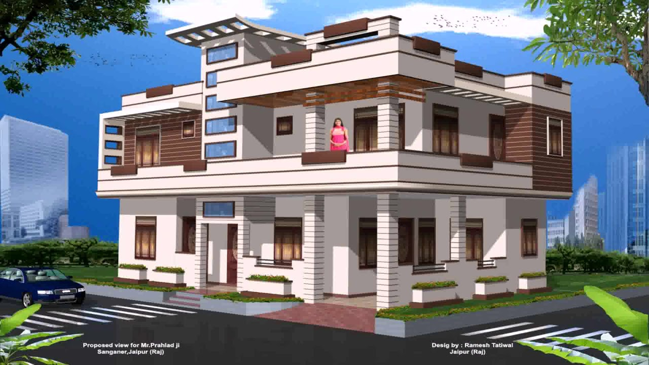House Front Elevation Design Software Free Download Youtube