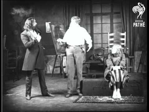 """Trilby At Apollo Theatre Aka Moments From """"Trilby"""" (1922)"""