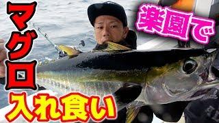"""南国の海中に浮かぶ魚の楽園""""パヤオ""""でマグロが釣れまくる⁉︎"""