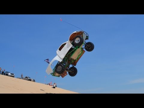 The Biggest Jump At Silver Lake Sand Dunes