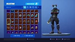 Fortnite *NEW* Malcore Skin With Backblings Showcase