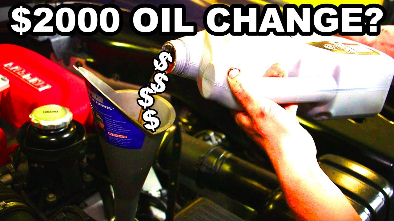 Ferrari Oil Change >> The Mythical Ferrari Oil Change