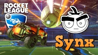 Обзор Rocket League. Synx