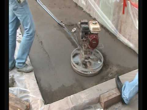 Затирочная машина по бетону своими руками