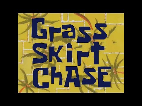 SpongeBob Music: Grass Skirt Chase