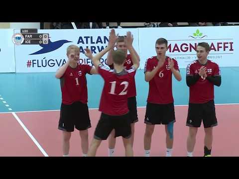 U20 EM flogbóltur menn: Føroyar - Ísland