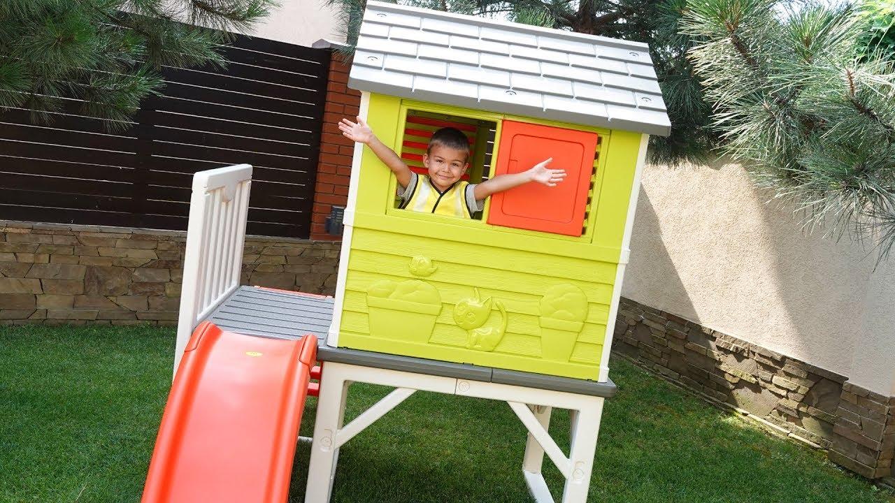Dima build a new House