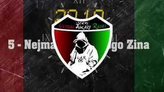 """Ultras Askary Rabat 2005 : Album """" 22:10 """" -5 Nejmat Bladi f Logo Zina-"""