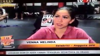 Brazilian Jiu-Jitsu Self Defense with Venna Melinda for TV One 'Fit,Fresh & Fun @Arena MMA Indonesia