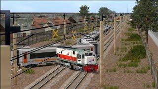 (HD) Kompilasi Kereta Api Anjlok #4-Trainz Simulator
