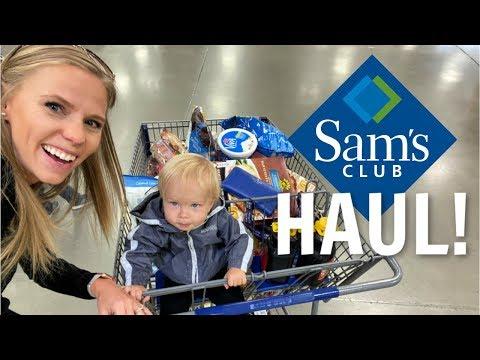 Sam's Club Haul For Family Of 7!