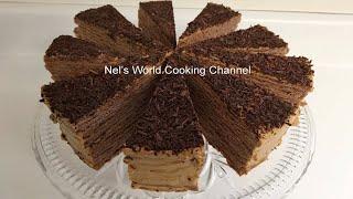 Armenian Caramel Cake Mikado - Շատ համեղ տորթ «Միկադո» - Армянский торт Микадо - Tort Mikado