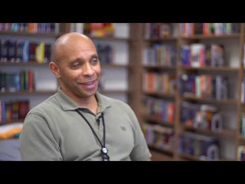 We Are Here For You: Todd Bynum, Central Juvenile Hall Library Manager