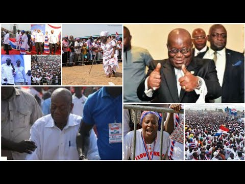 OMG! Nana Addo is blèssed.  People nearly crìed after his speech at Ashaiman