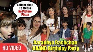 Aaradhya Bachchan GRAND Birthday Party | Abram Khan, Viaan Raj Kundra And Many