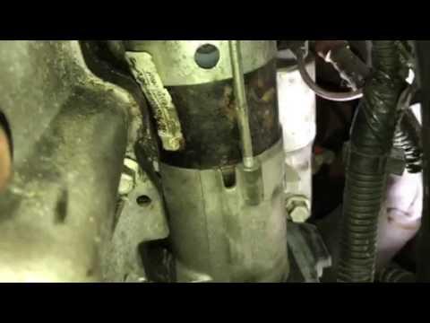 2000 Oldsmobile Intrigue Como Cambiar El Motor De Arranque Youtube