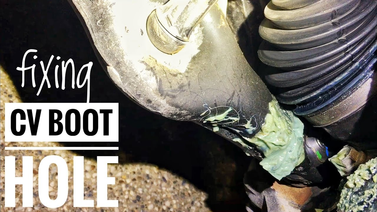 Fixing A Ripped Leaking Cv Axle Boot Youtube