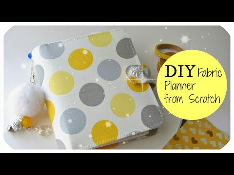 DIY Fabric Planner from Scratch