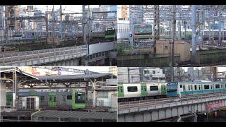 JR東日本 京浜東北線 山手線 上野東京ライン E231 E233 など