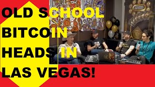 Talking Bitcoin with Jimmy Song, Thomas Hunt, & Adam Meister in Las Vegas! Scams, history,...
