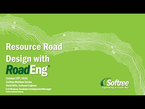 Intro to Resource Road Design with P-Line Survey Data