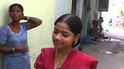 Beautiful Indian Girl in Slum Earya of Delhi   India