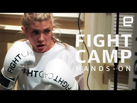 FightCamp Hands-On: A home boxing gym at CES 2019 - YouTube