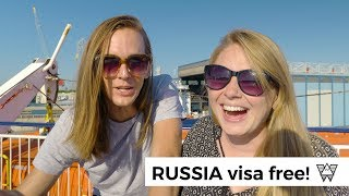 The Russia Visa Loophole! - ? Visit Russia with NO VISA!