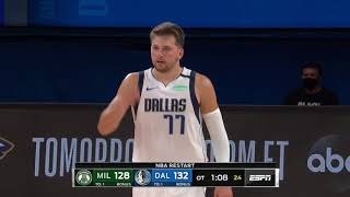 Dallas Mavericks vs Milwaukee Bucks | August 8, 2020
