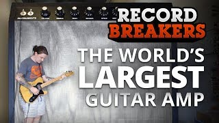 Record Breakers: Can We Build the World's Largest Guitar Amplifier? | Full Sail University