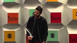 "Thomas Rhett wins ACM Single of the Year for ""Die A Happy Man"""