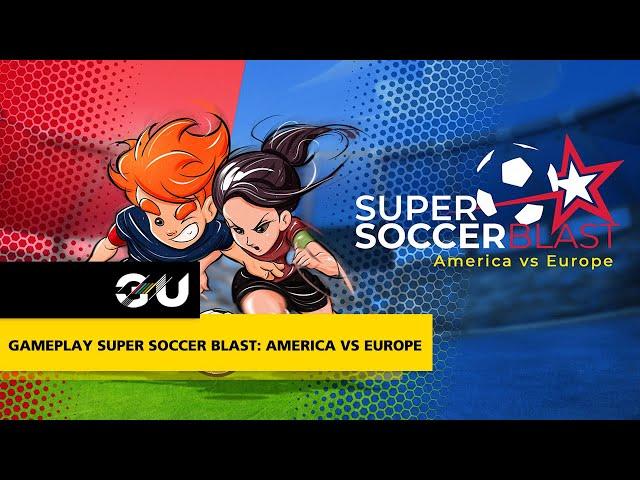 GAMEPLAY Super Soccer Blast: America vs Europe