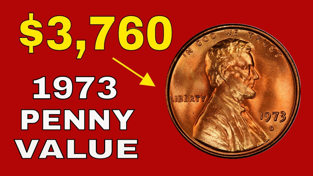 1973 penny value! 1973 rare pennies and error coins to look for!